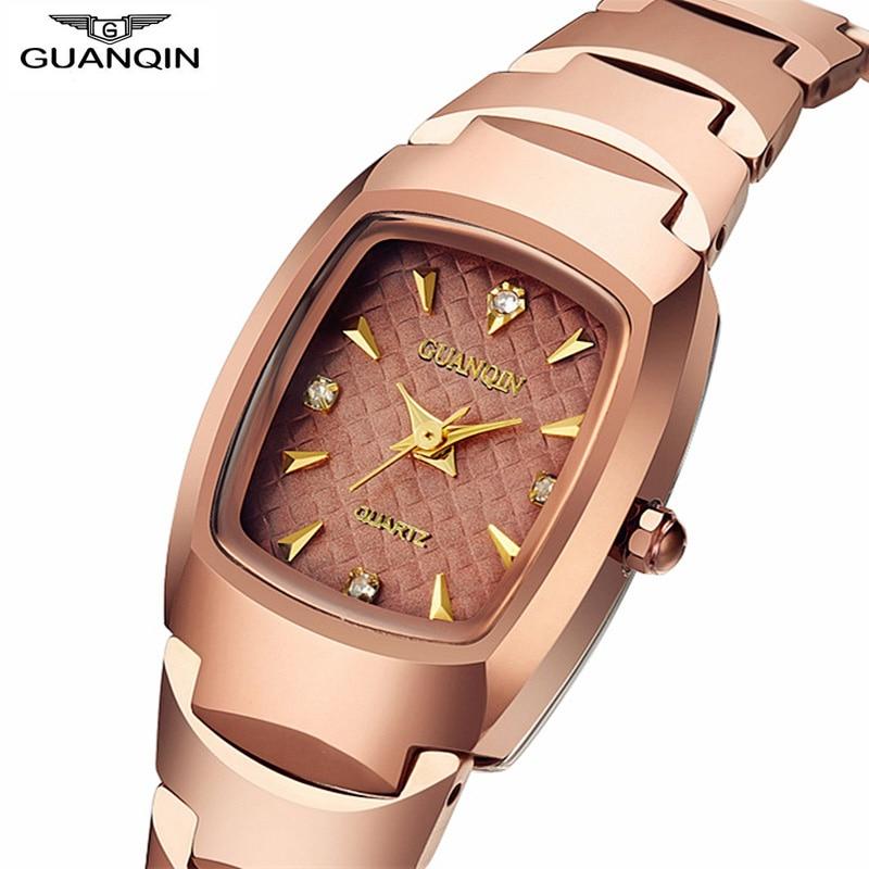 GUANQIN Quartz-Watch Jewelry Business-Bracelet Women's Ladies Luxury Fashion Oval Felogio