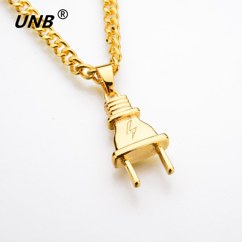 Plug necklace 2