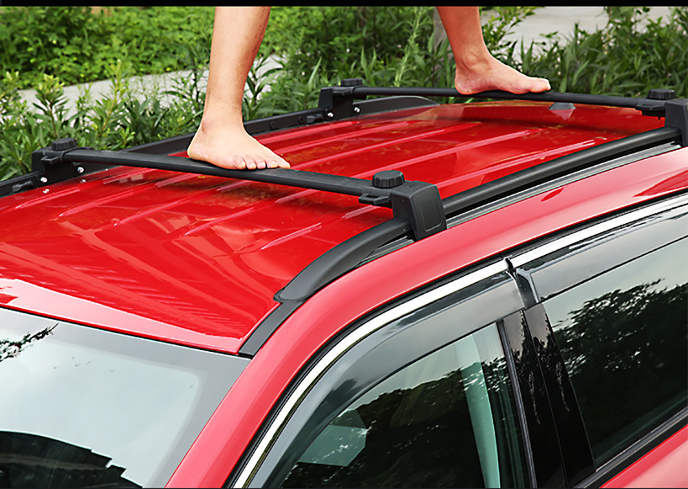 Luggage Carrier Cross Bar for JEEP Compass 2017-2018 Roof Rack Carrier Language