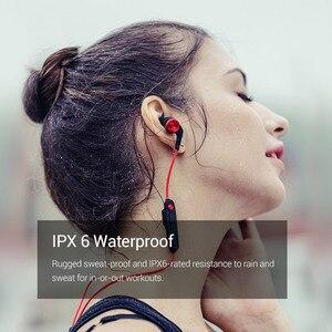 Image 3 - 1 więcej iBFree bezprzewodowy zestaw słuchawkowy Bluetooth 4.2 IPX6 wodoodporny zestaw słuchawkowy bluetooth v4.2 słuchawki douszne z mikrofonem E1018BT