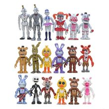 6 Stks/set Vijf Nachten Op Freddy Fnaf Baby Funtime Foxy Funtime Freddy Ballora Ennard Marionet Plushtrap Chica Action Figures speelgoed(China)