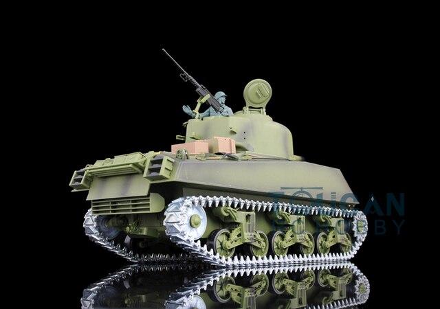 890324b70b59 HengLong 1 16 Scale M4A3 Sherman Upgraded Metal Version RTR RC Tank Model  3898