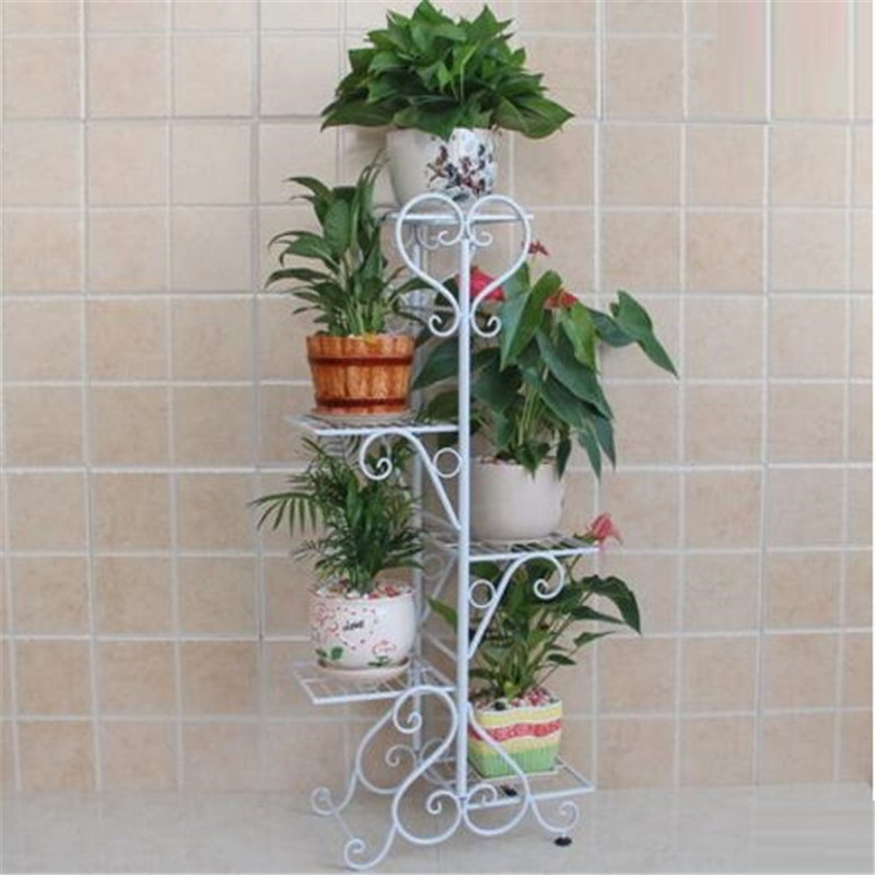 BSDT European flower garden flowerpot rack balcony floor iron multi room indoor green orchids hanging shelf special offer lang qing court iron creative flower green dill multilayer wooden living room interior floor spider showy flower pots