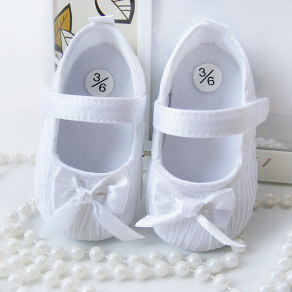 ФОТО fashion new baby girls shoes first walker toddler infants prewalker anti-slip shoes princess shoes white,pink 6-24m