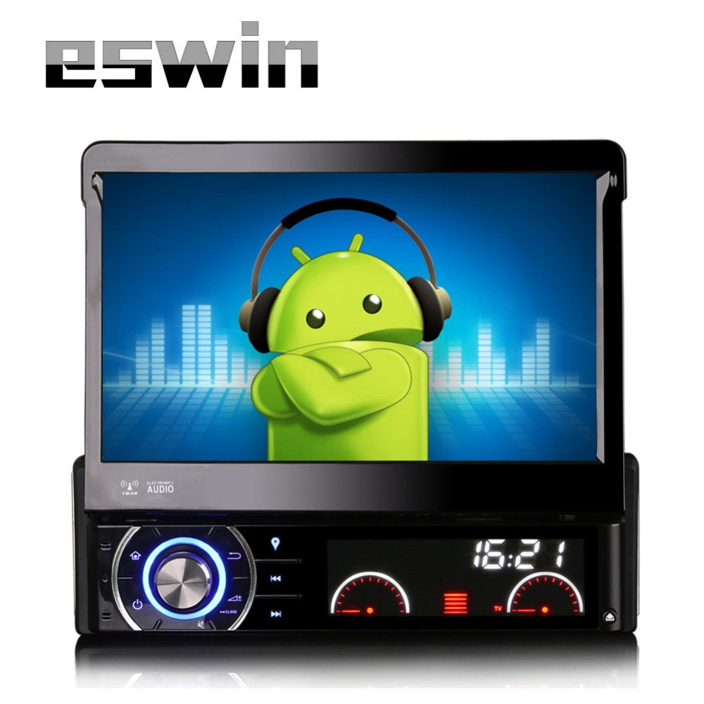 car android 4 4 radio stereo universal 7 capacitive touch. Black Bedroom Furniture Sets. Home Design Ideas