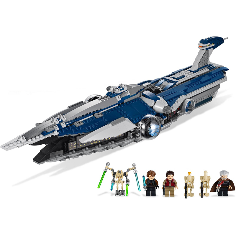 Lepin 05072 Malevolence building bricks blocks Toys for children Game Plane Weapon Compatible with Decool Bela 7665 lepin 22001 imperial flagship building bricks blocks toys for children boys game model car gift compatible with bela decool10210