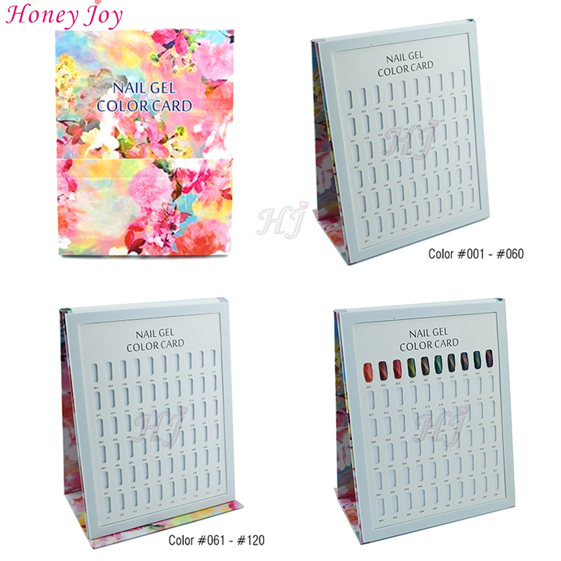 Latest up to date calendar design painting drawing front cover 120 latest up to date calendar design painting drawing front cover 120 colors nail art gel polish display card book chart with tips on aliexpress alibaba prinsesfo Image collections