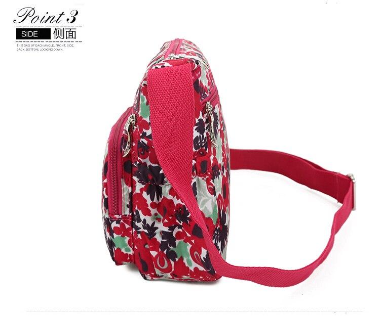 512fd5ad58 Shengxilu Casual Fleurs Femmes Sacs Vente Chaude Marque Logo Filles ...