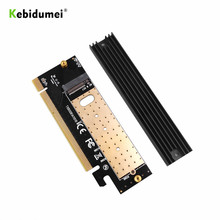 Kebidumei-adaptateur M.2 NVMe SSD, NGFF, PCIE 3.0x16/X4, extension d'interface M Key, prise en charge de 2230 à 2280 SSD