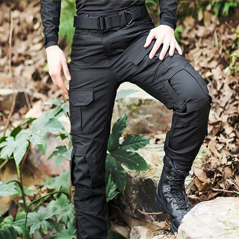 Pro Tactical Military Camouflage Cargo Pants Men Rip-Stop Anti-pilling Army SWAT Combat Trousers Breathable Casual Pants