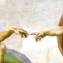 The Creation of Adam Painting