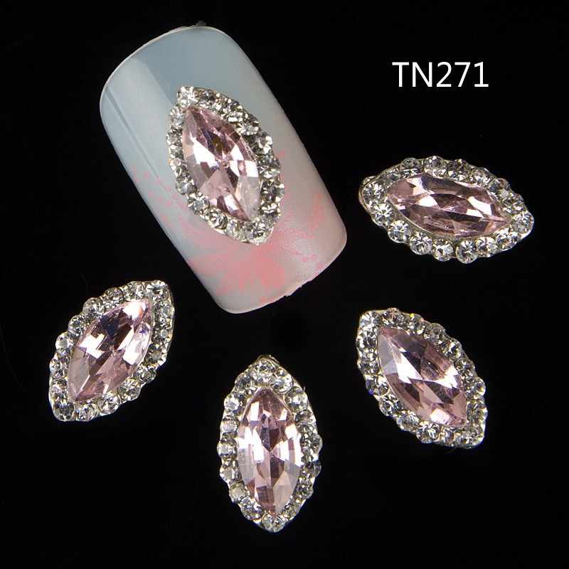 10pcs 3d nail jewelry decoration nails art glitter for 3d nail art decoration