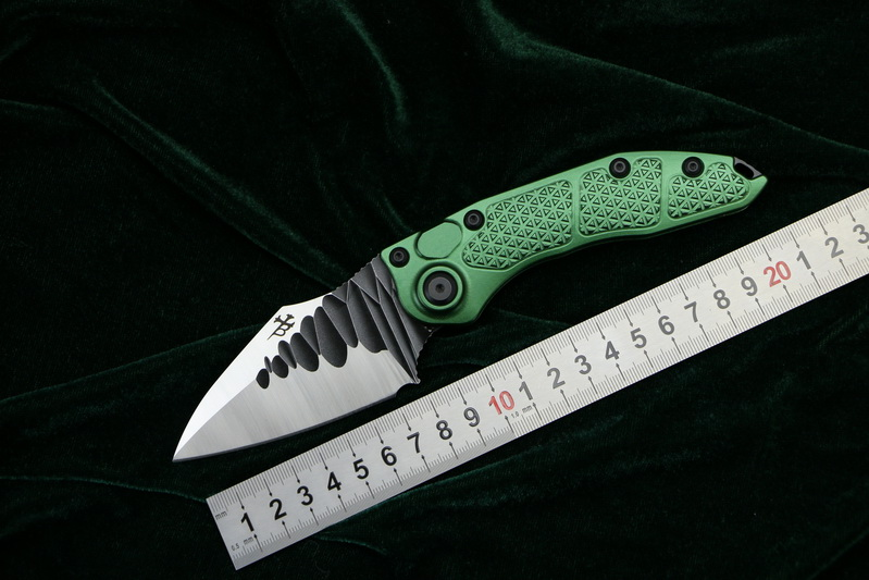 LOVOCOO NEW Stitch folding knife D2 blade 6061 T6 Aluminum handle outdoor camping hunting pocket fruit