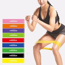 Latex Athletic Resistance Bands Elastic Crossfit Pilates Yoga Loops Exercises Aerobic Sport Training Fitness Leg Power Band(China)