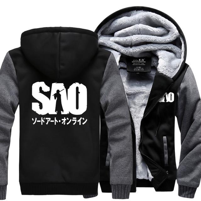 Sword Art Online S.A.O Sweatshirt Warm Hoodie