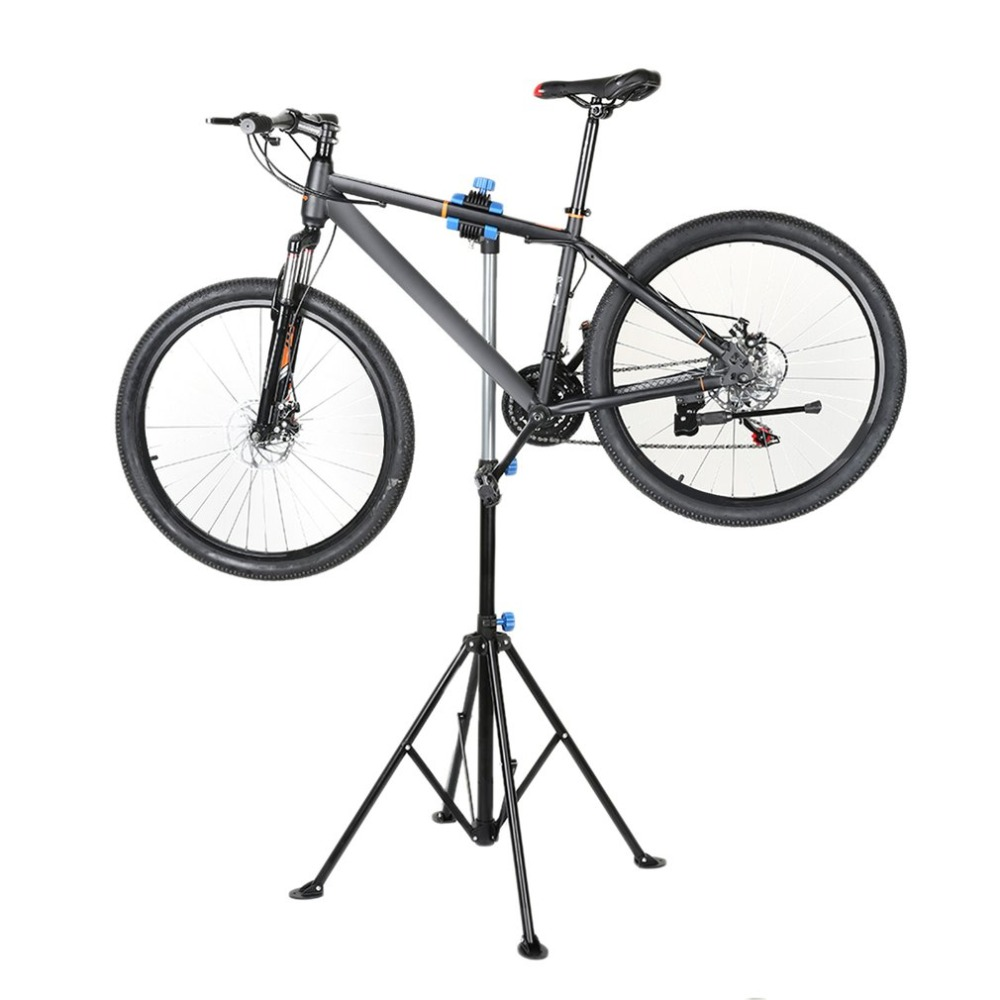 Professional Bike Adjustable Height Repair Stand Telescopic Arm Bicycle Rack
