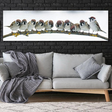 Modern Poster canvas animal painting birds Frameless Printing  Home Decor wall art picture