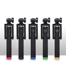Мода проводной Selfie Стик для iPhone 7/7 плюс iPhone 6 6 s iOS для Samsung Android Смартфон