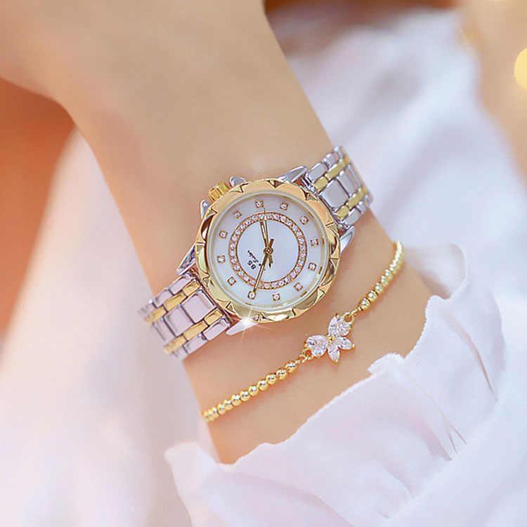 2019 מכירה לוהטת נשים שעוני יוקרה קוורץ גברת שעון באיכות גבוהה ריינסטון נקבה שעוני יד מקרית שעון Relogio Feminino