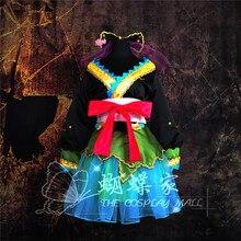 Conjunto completo Vocaloid Hatsune Miku Proyecto Diva Trajes para mujeres Anime Cosplay vestidos lolita disfraces 6 in1