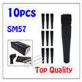 10pcs wholesale top auality SM57LC free shipping vocal Karaoke microfone dynamic wired handheld microphone SM57LC