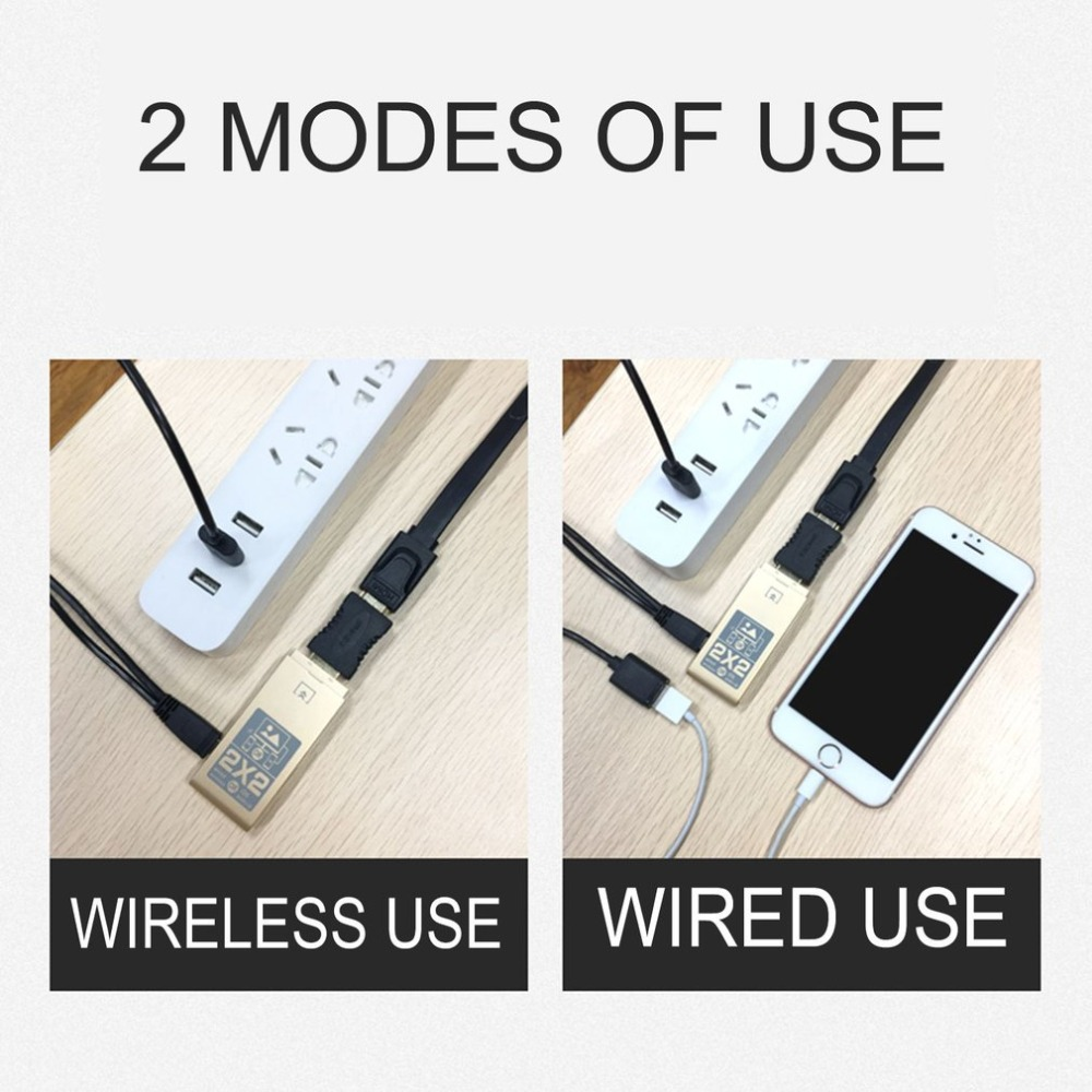 Wireless Wired Dual Mode Super Dongle Super Slim Portable Wi Fi ...