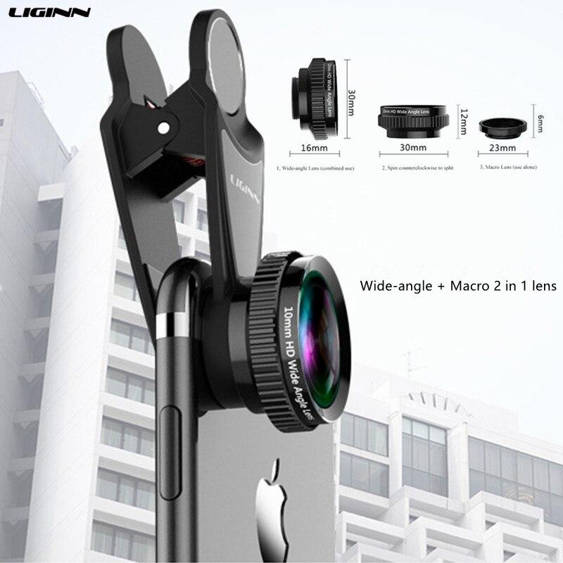 LIGINN Optical Zoom 2X Telephoto Lens Mobile Phone Camera Telescope lens For iPhone 6 7 8 Samsung Note8 S8 S9 Xiaomi hua wei
