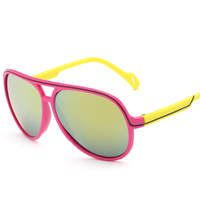 2017 Fashion Boys Girls Mirror Kids Sunglasses Summer UV400 Vintage Sun Glasses Children Eyewear Oculos Infanti