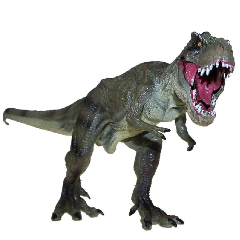 Jurassic World Park Tyrannosaurus Rex Dinosaur Model Toys Animal Plastic Pvc Action Figure Toy for Kids Gifts(China)
