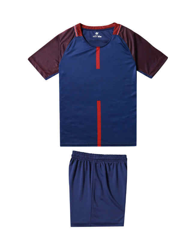 77c8828a ... New kids plain soccer sets youth football shirts and shorts boys sports  training kits can customized ...