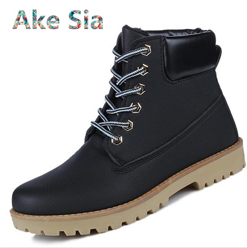 0 2018 Spring and winter Martin boots warm British men boots men short tooling men's hiking boots men's shoes  #86 bullock men s winter warm cashmere men martin boots help british retro style boots shoes for men high leather shoes breathable