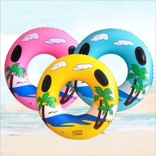 100cm Inflatable Swimming Circle Tube adult pool floats coconut rubber ring thickner giant float Pool Party pool buoy water Toys new mermaid swimming ring adult pool floats inflatable buoy rubber rings flamingo donut circle women giant float pool toys