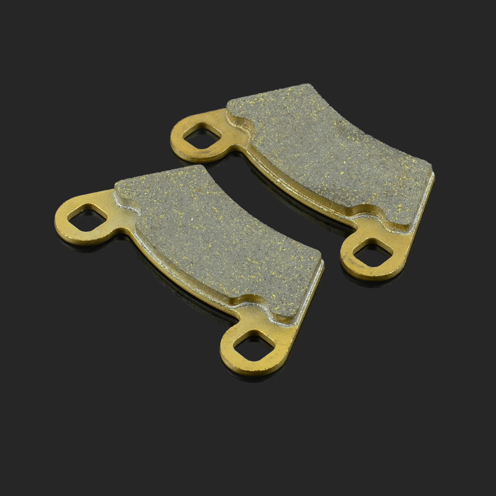 Motorcycle Front Or Rear Brake Pads Fit For POLARIS RANGER TM 400RANGER 325SPORTSMAN RZR-4 <font><b>800</b></font> <font><b>UTV</b></font> PPS/<font><b>UTV</b></font> BRUTUS image