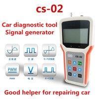 Автомобильной генератор сигналов CS 02 Имитации Сигнала параметры аналоговый напряжения и частоты сигналов английская версия