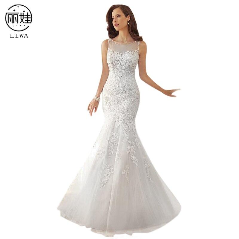 Кружева суд Поезд тонкий Свадебная вечеринка платье Стиль перспектива спинки платье подружки невесты без рукавов труба Vestidos De Noiva