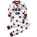 Костюмы для новорожденных мальчики младенческой пуловеры одежда для Детей Loungewear приданое устанавливает Футболки брюки для девочек комплект одежды