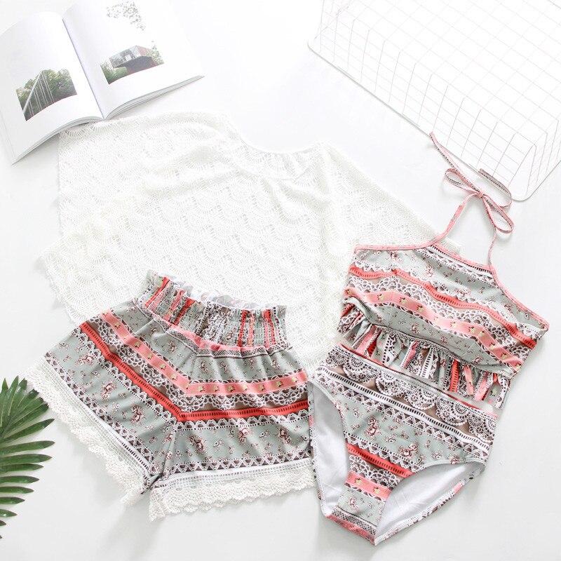 Grande taille XS-XXL maillots de bain femmes maillot de bain Sexy Tankini ensemble deux pièces costumes Swirly Paisley imprimé rembourré maillot de bain robe de bain