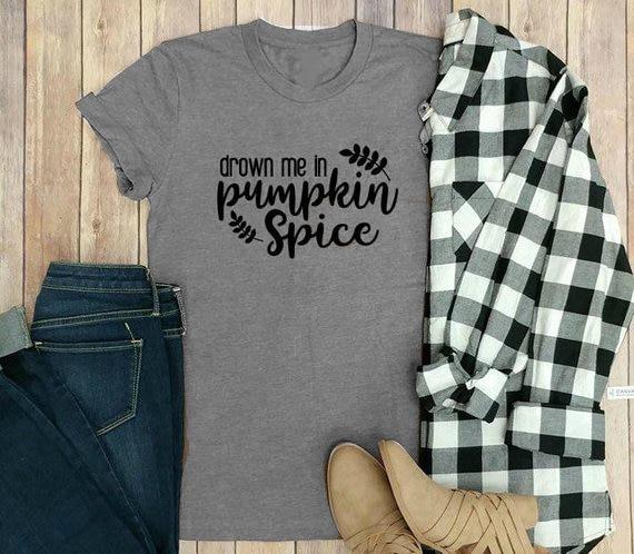 a2828b5e Товар Drown me in Pumpkin Spice T-Shirt Pumpkin Spice Shirt ...