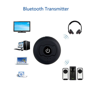Image 4 - Multi point AUX 3.55mm Wireless Audio Bluetooth Transmitter Music Stereo Adapter For TV Smart PC DVD MP3 Bluetooth 4.0 double