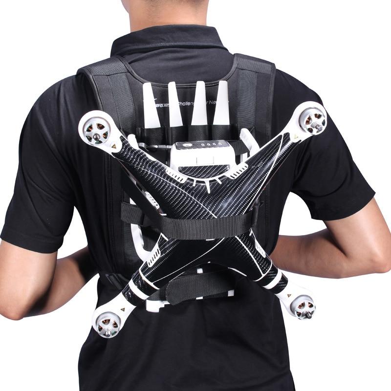 Sunnylife Travel Portable Shoulder Bag Nylon Belt Backpack With Adjustable Lanyard Strap For DJI Phantom 3 4 Drone Quadcopter