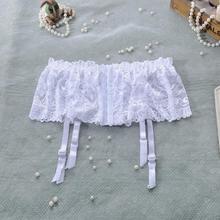 Sexy Lace Garters Wedding Adjustable Hot Sheer Garter Belt Suspenders For Stockings Sexy Lingerie Garter Pantyhose Female