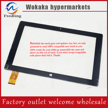 100% original new 10.1inch win8 HK10DR2590 QX20150730 for Oysters T104W 3G tablet PC touch screen digitizer panel repair glass