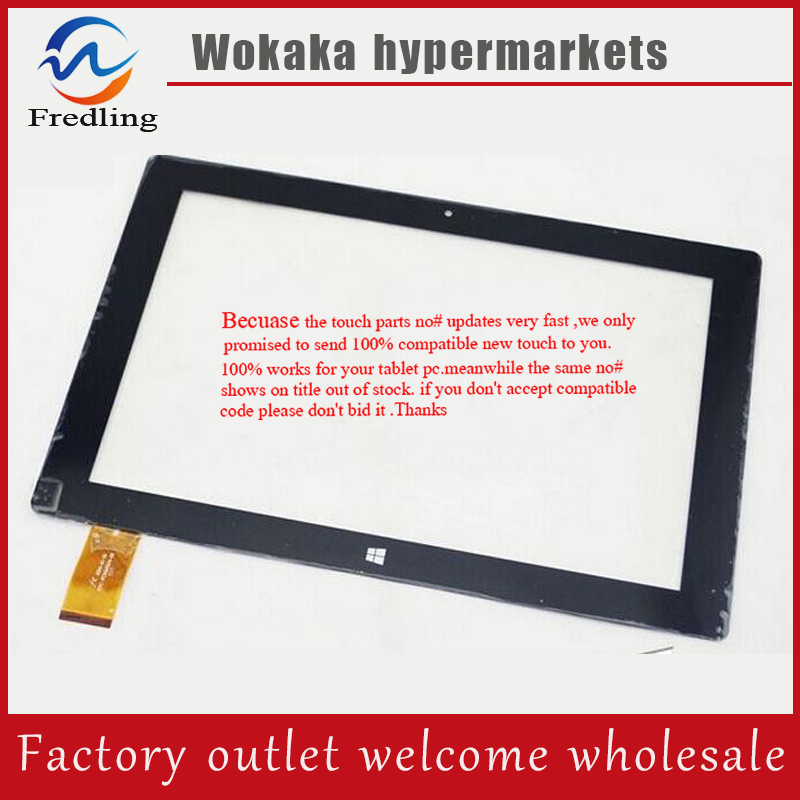 100% original new 10.1inch win8 HK10DR2590 QX20150730 for Oysters T104W 3G tablet PC touch screen digitizer panel repair glass tangle teezer