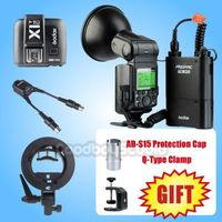 [Free Gift] Godox AD360II C TTL Flash + PB960 Battery + X1T C Transmitter+ S type Bracket + DB 02 Cable Kit