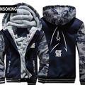 New Winter Warm STAR TREK Hoodies Anime TV Hooded Coat Thick Zipper men casual cardigan Jacket Sweatshirt