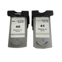 vilaxh For Canon PG40 CL41 Compatible Ink Cartridge For Pixma MP160 MP140 MP180 MP190 MP210 MP220