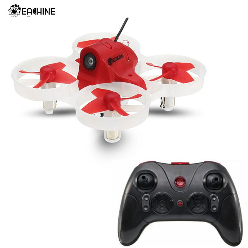 Eachine M80S with 3 Flight Mode 8520 Motor 5.8G 600TVL Camera Micro with Transmitter RC FPV Racer Drone Quadcopter RTF VS E010S fx797t 5 8g 25mw 40 channel av transmitter with 600 tvl camera soft antenna for indoor fpv racing drone