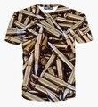 2015 novo chegada verão de manga curta de impressão 3D T homens camisa de moda Hip pop para homens marca t-shirt