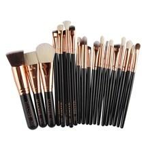 Makeup Brushes Make up Brushes Highlighter Eye shadow Foundation Blush Blending Brushes maquiagem Naked Palette Beauty 20pcs