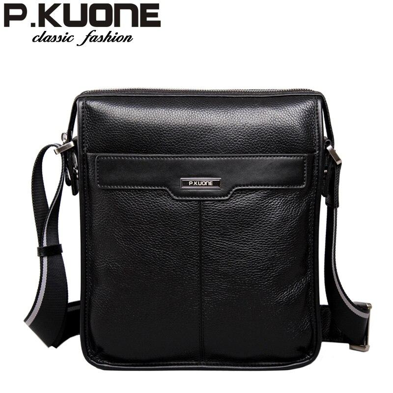 ФОТО new arrival 2017  fashion genuine leather men shoulder bags, brand design man  leather messenger bag ,male cowhide  business bag